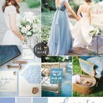 Serenity Blue wedding theme { 1 in Top 10 Pantone Spring 2016 }
