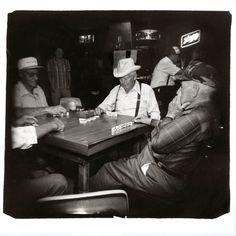 11am at the Bowling Club and Caf_ - Blanco, Texas 16x20/M Print