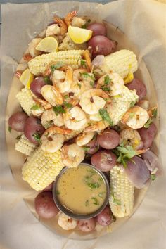 Hold a shrimp boil at home for a fun Summer dinner