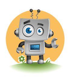 Robot Vector Character - Freebie