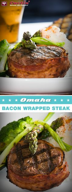 Take an Omaha steak to the next level and wrap it with Bar-S bacon for extra flavor. Be sure to repin for your chance to WIN free Bar-S product!