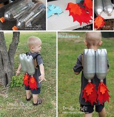 Cute little recycle project the scientists of the next generation will love!!