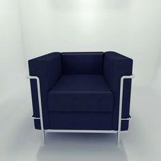 Poltrona LC2 - Le Corbusier, Pierre Jeanneret e Charlotte Perriand
