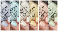 OPI Spring 2016 Soft Shades Collection Swatches and Review, OPI Pastels, OPI Soft Shades, Spring 2016, Pastel Soft Shades, Pastel Cremes, OPI Nail Polish