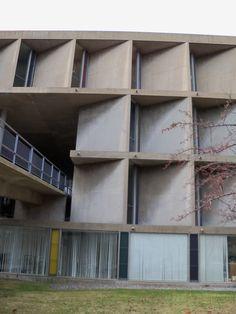 Carpenter Center at Harvard. Le Corbusier.