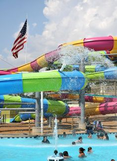 Looks like Nashville Shores waterpark is capable of being ready for Independence Day.  Those slides look like a lot of fun too!