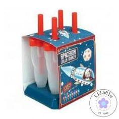 Raketjes!!! IJs Lolly Maker. Spaceboy rocket lolly maker. Make your own healthy ice creams!