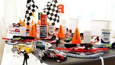 A Need-for-Speed Race Car Party #racecar #themeparty  www.bitememore.com