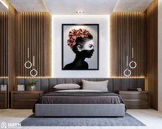 Modern Luxury Bedroom, Luxury Bedroom Design, Master Bedroom Interior, Modern Master Bedroom, Room Design Bedroom, Bedroom Furniture Design, Home Room Design, Luxurious Bedrooms, Home Decor Bedroom