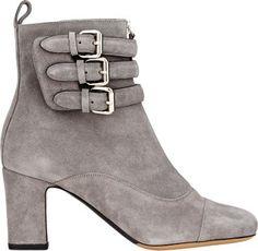 Tabitha Simmons Triple Buckle Nash Boots at Barneys New York