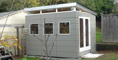 Modern Shed, a Seattle based company selling customized prefab units