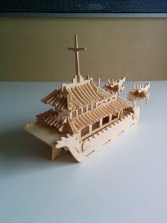 Completed 3d woodcraft construction kit Dragon Boat http://www.ebay.co.uk/itm/251730090296?ssPageName=STRK:MESOX:IT&_trksid=p3984.m1559.l2649