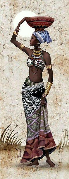 Ideas Black Art Painting Woman Beauty Portraits For 2019 Black Art Painting, Black Artwork, Woman Painting, Diy Painting, Black Girl Art, Black Women Art, Art Girl, African Beauty, African Women