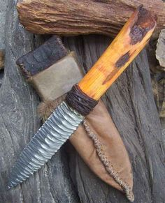 copper wrap knife handle - Google Search