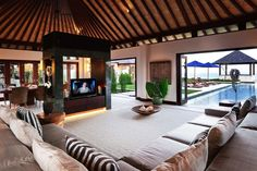 Villa Nora Livingroom, SEMARA LUXURY VILLA RESORT ULUWATU, Bali