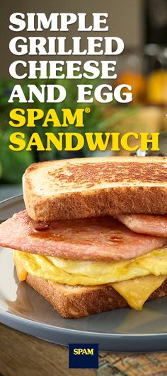 Not a morning person? Fry up SPAM® Brand. And change the A.M. to A.MMM. |Breakfast Ideas | Easy Breakfasts | SPAM® Brand