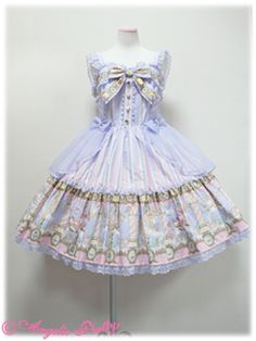 Lolibrary | Angelic Pretty - JSK - Day Dream Carnival Tiered JSK