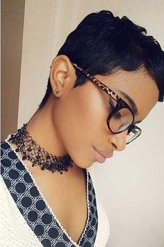 Black Girls Short Hair