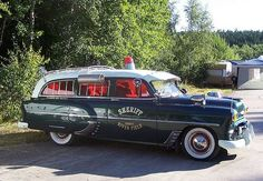 1953 Chevy Ambulance.