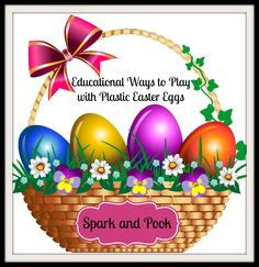 Find more fun and educational ways to play with those plastic eggs.