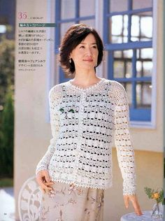 KNIT YOUR OWN SWEATERS FOR WOMEN SPRING-SUMMER No. 2520 - Azhalea Let's Knit 1.1 - Picasa Web Albums