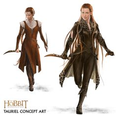 "Tauriel concept art from ""The Hobbit: Desolation of Smaug"" (2013). Description from pinterest.com. I searched for this on bing.com/images"