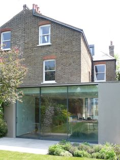 VCDesign Love this side return and rear extension with courtyard