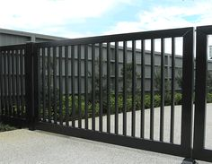 Instyle Gates - Bar Design Automated Swing Driveway Gate