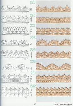262 узора крючком. Японская книжка со схемами (60) (484x700, 239Kb)