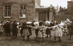 Victorian school children. Good idea for school scenes