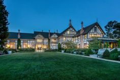 This regal Tudor in Los Altos Hills was once owned by a Stanford University trustee; currently lists for $27 million.
