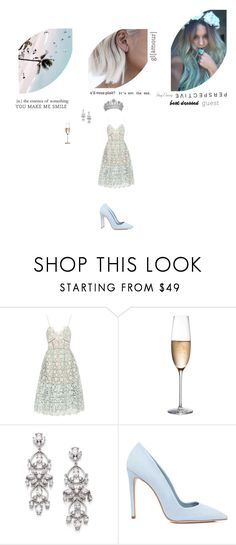 """""""There's Only One Way To Describe That Girl ~ A Beautiful Bi.tch"""" by smil-ly ❤ liked on Polyvore featuring self-portrait, RogaÅ¡ka, Adriana Orsini, Dee Keller, country, roleplay, bestdressedguest and vineyardwedding"""