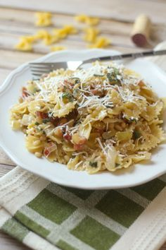 Farfalle with Pancetta, Pine Nuts, and Sage