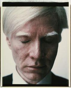 Andy Warhol, Self-Portrait (Eyes Closed)