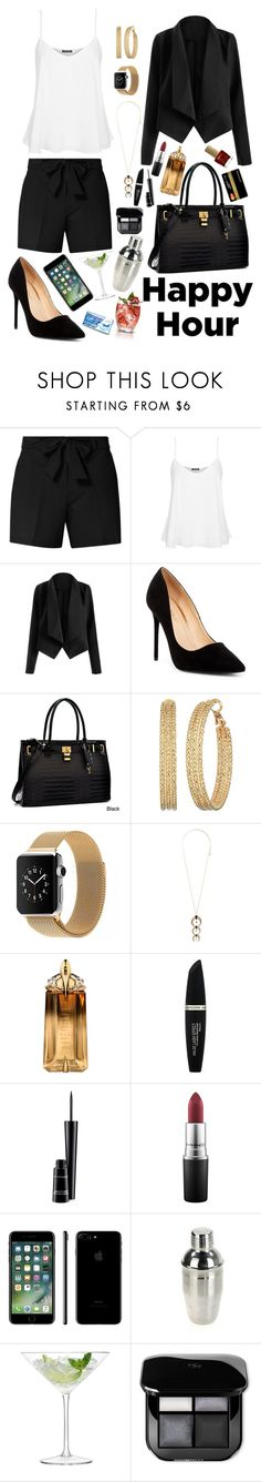 """""""After Work a little Cocktail ... or two?"""" by lexisamskywalker on Polyvore featuring Dorothy Perkins, Topshop, Liliana, Dasein, GUESS, Charlotte Russe, Thierry Mugler, Max Factor, MAC Cosmetics and LSA International"""