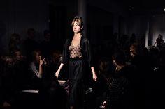 LAVA by Ania Kuczyńska. FOT. M. Stankiewicz / MORE: www.YESisMyBless.com/ania-kuczynska-lava-spotkanie-sacrum-i-profanum #AniaKuczynska #warsaw #warszawa #fashion #poland #designer #catwalk #fashionshow #trends #models #design