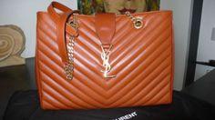 Orange Replica #Chanel Shopping Bag