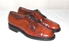 Allen Edmonds Leeds Shell Cordovan Brown Leather Oxford Made in USA Men's  9.5 D #AllenEdmonds #Oxfords