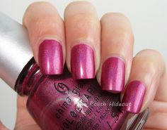 China Glaze Infra Red - Hologlam Collection
