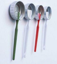 DIY tandenborstelhouder
