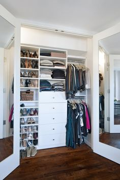 Ms. DeCaro Can Do Without A Dresser Because Of A Custom $1,500 System From  California