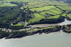 Watermouth Castle and Watermouth Bay in North Devon - UK aerial image #watermouth #aerial #devon | by John D F