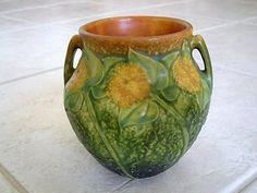 I love the Sunflower pattern from Roseville. So pretty.