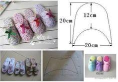 Todo para Crear ... : botitas en polar Slippers, Couture, Sewing, Pretty, Moma, Shoes, Tips, Fashion, Bedroom Slippers