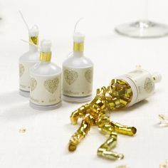 Wedding Decorations, Party Poppers - Vintage Romance