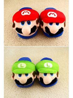 Super Mario Bros Slippers Mario Bros Arcade 600d52d6eca3
