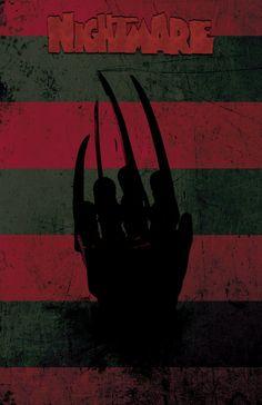 Nightmare on Elm Street - Freddy Krueger - Wes Craven - Robert Englund - Original Art Print 13x19