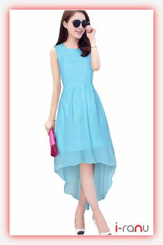 Extra Off Coupon So Cheap Sky Blue Color Party Dress Printed Western Women Fashion Outfit Summer Day Wear Georgette Fabric, Western Dresses, Fashion Outfits, Womens Fashion, Casual Wear, Party Dress, Summer Outfits, One Piece, Clothes For Women