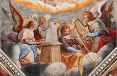 1600s—Malvaglia, Switzerland: A fresco in the parish church of San Martino