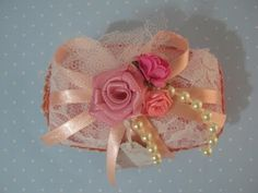 HOW TO: Make Miniature Flower Basket of soap and Ribbon - JK Arts 531 - YouTube